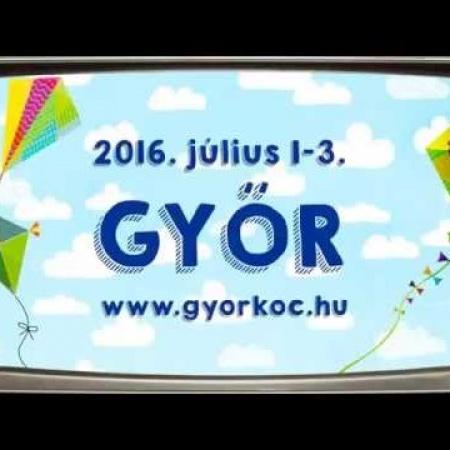 9. Győrkőcfesztivál - 2016. július 1-3.